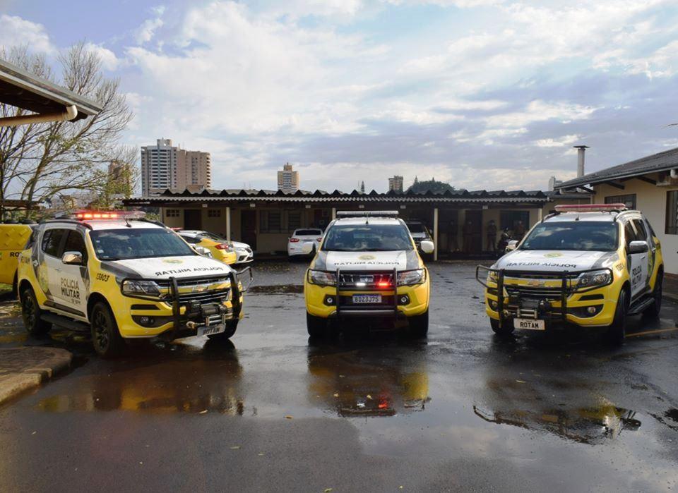 Polícia Militar recebe reforço de três novas viaturas