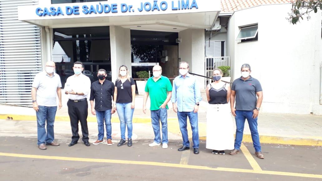 Presidentes da Amunop e Cisnop agradecem compra coletiva de 30 Bombas de Infusão para Hospital João Lima